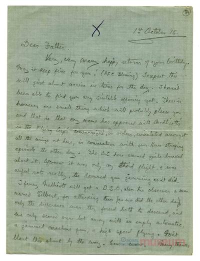 01.10.1915 - Bernard bei Loos