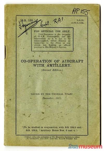 15.10.1916 - Bernard: RFC Artilleriebeobachtung, Teil 4
