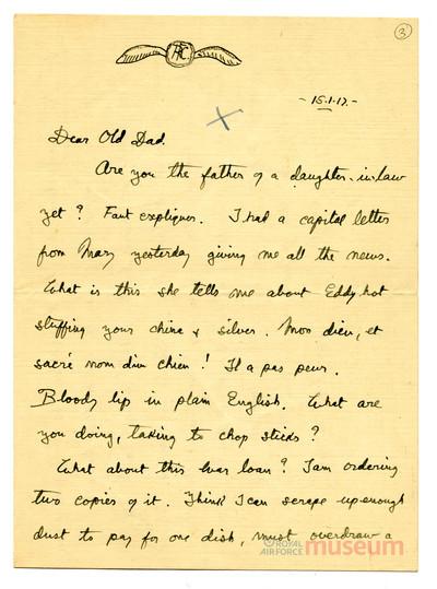 15.01.1917 - Bernard zeichnet Kriegsanleihen