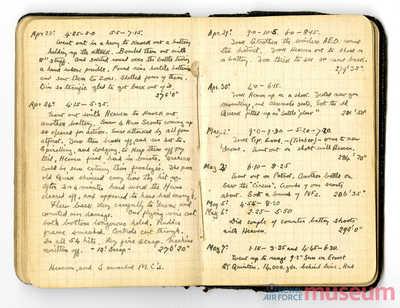 24.04.1917 - Bernard erhält den Orden Military Cross