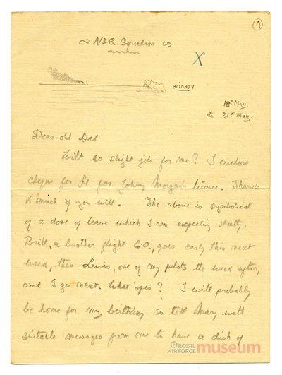 18.05.1917 - Bernards Vortrag