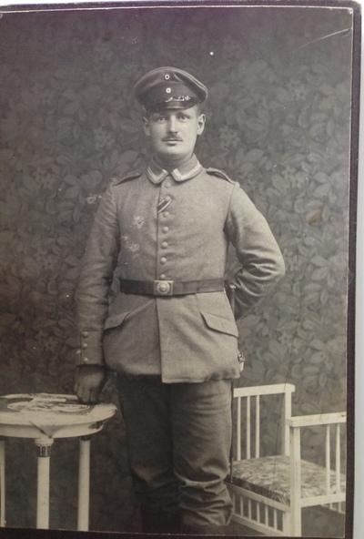 """17.04.1915 - Peter: """"Der Soldat begann allmählich wieder, wie ein Soldat auszusehen"""""""