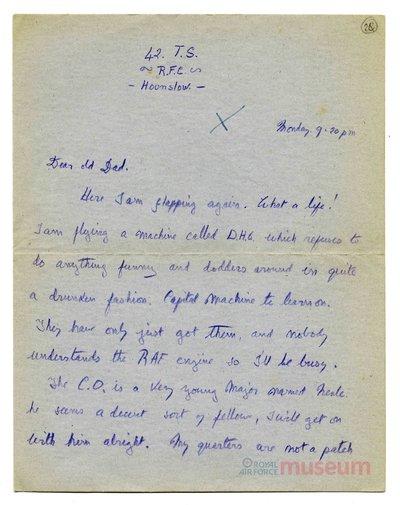 08.12.1917 - Bernard gibt seine Eindrücke über den Krieg in der Heimat wieder