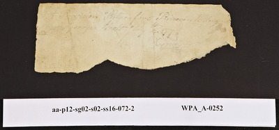 Provision Return for the [Main Guard] Signed by [Illegible] for Prisoners, 07/?/1778