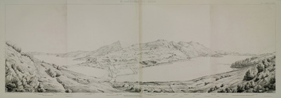 Panoramic view of Knidos.