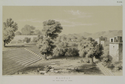Ruins of an ancient stadium, probably of the city of Heraclea Salvace, at the village of Vakif.