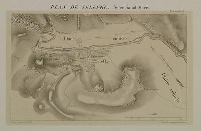 Map of Seleucia in Cilicia.