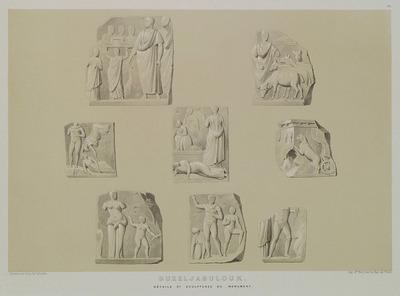 Reliefs at Kizilcabölük, on Mount Babadag.