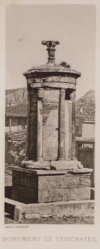 The Choregic monument of Lysicrates.