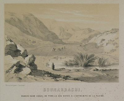 Landscape at the area of Pinarbasi, Denizli.