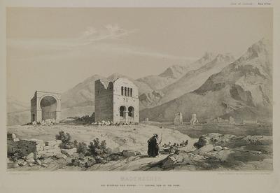 Early Christian ruins in Madenşehri, Binbirkilisse area,  Mount Karadag.