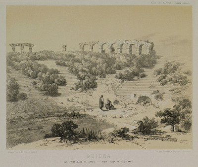 View of the Stadium of Aphrodisias in Caria.