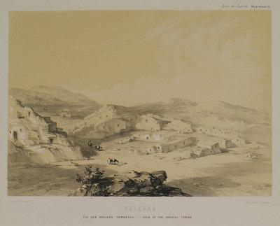 View of the necropolis in Seleucia of Cilicia.