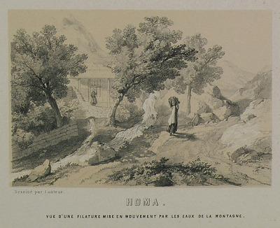 Watermill on Mount Homa, Asia Minor.