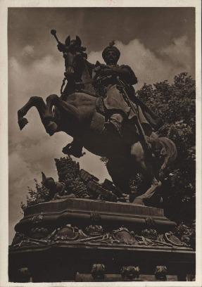 Lwów. Pomnik króla Jana III Sobieskiego