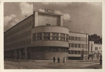 Lwów. Gmach zarządu M.Z.E.