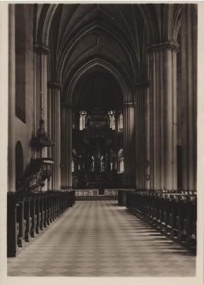 Lwów. Kościół Św. Elżbiety, wnętrze