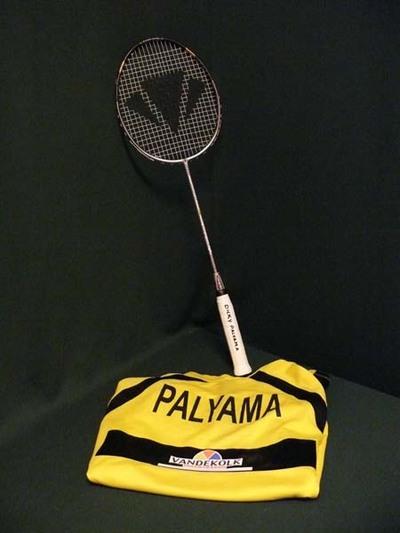 Badmintonshirt en racket