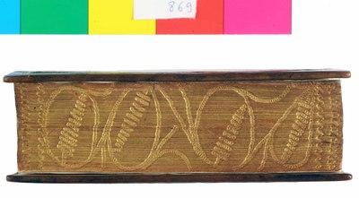 Piatti originali recuperati per legatura moderna su Triton biblion meros