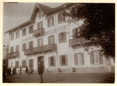 BELLE-VUE  GRAND HOTEL ALPINO. GIGNESE?, MOTTARONE, IL GRAND HOTEL BELLE-VUE