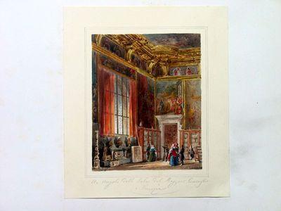 Un angolo della sala del Maggior Consiglio a Venezia