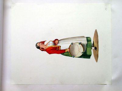 Popolana con tamburello