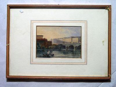 Piazza Vittorio Veneto e il ponte sul Po
