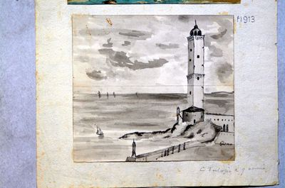 Torre sulla riva del mare