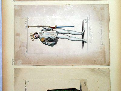 Louis le Germanique (VIII.me siècle - Règne de Louis 1.er)