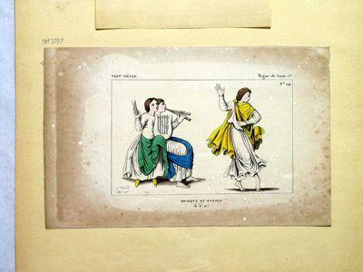 Musique et Danses (VIII.me siècle - Règne de Louis 1.er)