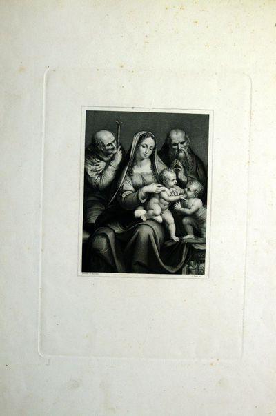 Madonna con bambino, San Giovannino e due Santi