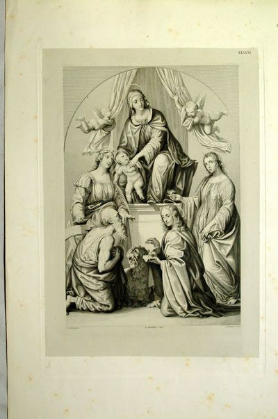 Madonna con bambino e i SS. Caterina d'Alessandria,Gerolamo,Giovanni ev. e Lucia
