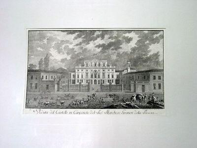 Veduta del Castello in Carpeneto del Sig. r Marchese Graneri della Roccia