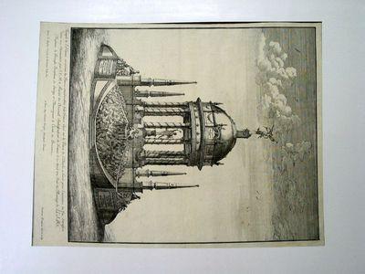 Tempio eretto in P.zza S. Carlo (per il matrimonio della Principessa Giuseppina di Savoia con il Conte di Provenza)