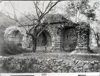 Cap Martin (Mentone) - Edificio romano, resti