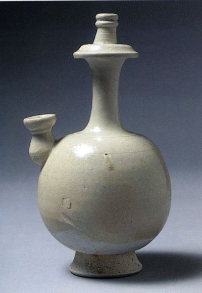 Bottiglia jingping (kundikā) per l'acqua