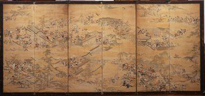 Insurrezioni Hōgen e Heiji - parte destra
