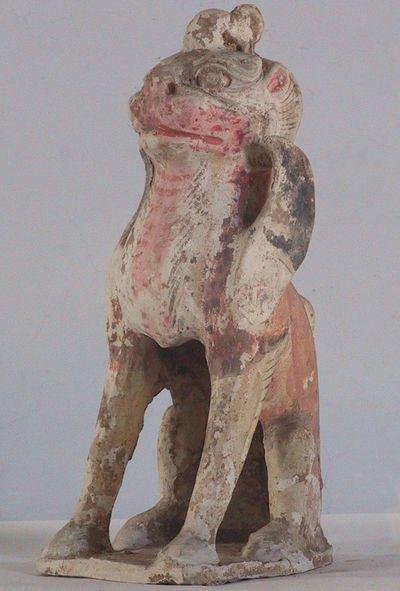 Zhenmushou/ creatura protettrice della tomba a muso felino