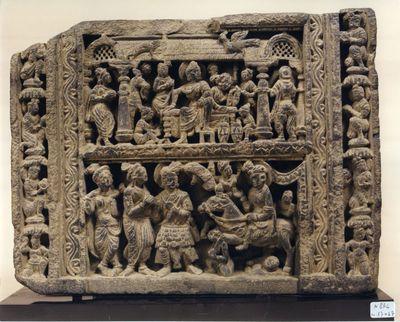 La grande rinuncia e la dipartita dalla casa paterna del Buddha