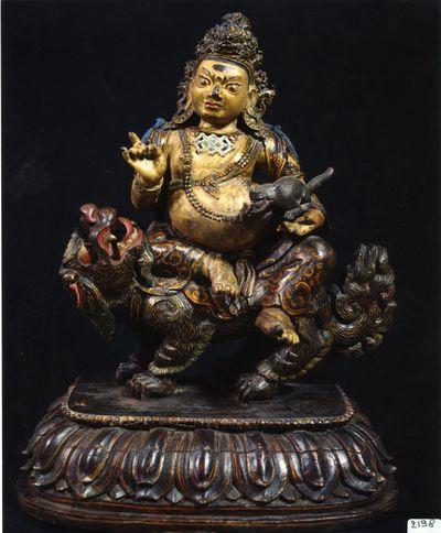 Vaishravana/ Guardiano del Nord e dio della ricchezza
