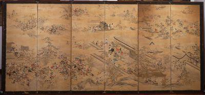 Insurrezioni Hōgen e Heiji - parte sinistra