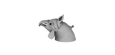 3D model of Pisa Gryphon
