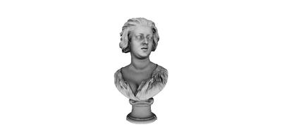 3D model of Bust of Costanza Bonarelli