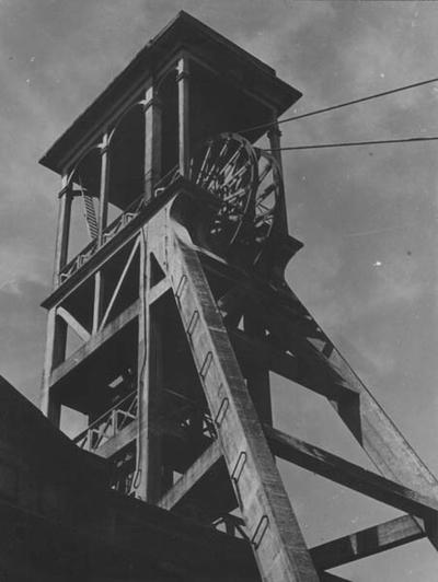 Schacht I van de Oranje-Nassau mijn IV in Heksenberg.
