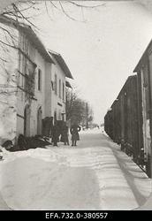 Vene 33.Jalaväediviisi 131.Tiraspoli polgu ohvitserid Ringmundshofi                      (Kegums) raudteejaamas.