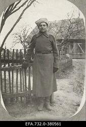Vene 33.Jalaväediviisi 131.Tiraspoli polgu [8.roodu nooremohvitseri                      lipnik Johann Ostrati] tentsik Andrei.