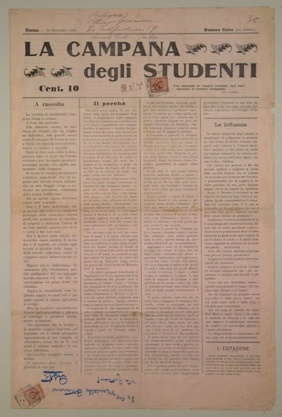 La campana degli studenti