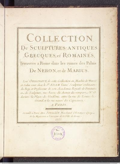 Ionian antiquitiesAntiquities of Ionia[Part I]