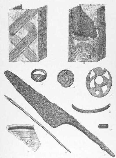 Roman objects from Boxmoor, Hertfordshire
