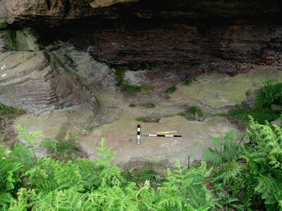 Corby's Crags Rock Shelter 2